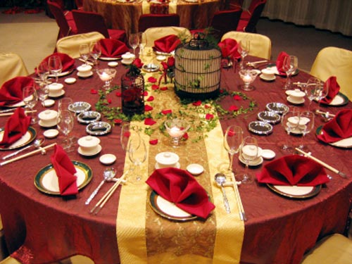 Wedding Table Decorations Themes